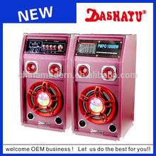 Bluetooth vibration speakers home use karaoke speaker