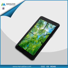7 inch quad core smartphone dual sim 4G LTE MTK8732 Quad Core 3G ,2G, 1024*600 1G+8G,0.3M+2.0M with CE Rohs FCC