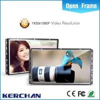 7 inch shelf lcd advertising display ,media player codec