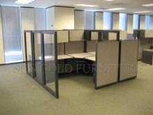 MDF High Partition Commercial Workstation Desk (SZ-WS165)