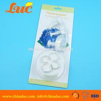 Brand new 4 pieces hydrangea fondant plunger cutter set cake decorating accessories