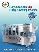 Automatic filling Sealing cup yogurt machine