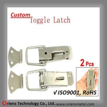export stainless steel toggle latch,box hasp lock,locking tool box latch
