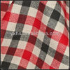 Wholesale Red and Black Flannel Fabric Plaid Flannel Fabric