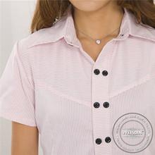 yarn dyed manufacter spandex/cotton fascinating shirts