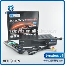 Original JB200 and WIFI jynxbox v6 tiger t800 full hd satellite receiver