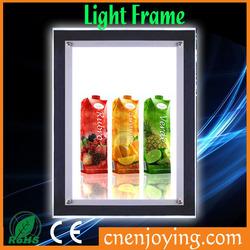 Led Light Picture Frame/Lighted Picture Frames/Advertising Led Light Frame
