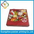 china fornecedor promocional papel reciclado artesanal de caixa de pizza