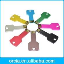Promotional 2015 new year gift key usb flash memory 2gb 4gb 8gb 16gb 32gb 64gb