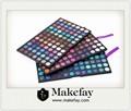 Mais quentes China fábrica de atacado 252 cores maquiagem glitter eyeshadow