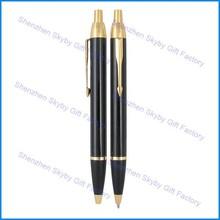 Business Gold Clip Refill Metal Ballpoint Parker Jotter Pen