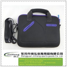 15 15.6 inch Neoprene Laptop Sleeve Bag Carrying Case with Handle and Adjustable Shoulder Strap