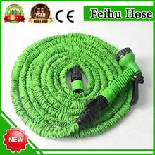 yiwu stocklot market canvas hose/hose gun power nozzle/plastic tube reel