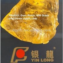 Factory supply Chinese WW Grade Gum Rosin