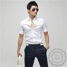 200 grams manufacter spandex/cotton men japan style shirt