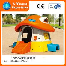 2015 LLDPE material kids plastic playhouse,Kids Garden Playhouse