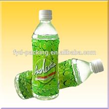 Full color printing PET shrink label for bottle packaging