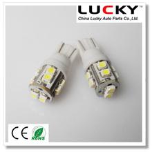 Super bright T10 W5W 10smd 1210 3528 led auto lamp bulb