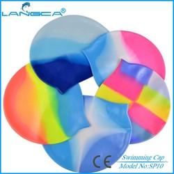 Good quality silicone ear swim cap