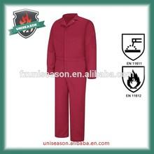 Inherently oil field 100% aramid fireproof garments