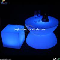 Modern Club Used Glow bar LED Light Table