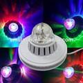 cor cheia de girassol rotativa luz conduzida 48 pcs mini magic crystal ball fabricante atacado