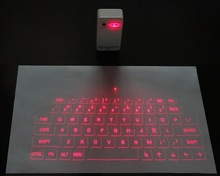 New developed wireless laser virtual keyboard and mouse Red infrared keyboard