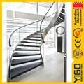 تصاميم الدرج مغطى/ الدرج الدائري/ منحني الدرج