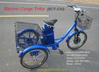 2015 New Hot selling 3 wheel motorized bike,electric cargo trike, three electric cargo tricycle with our Smart Pie Hub Motor