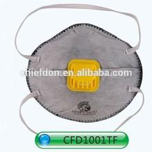 FFP2 active carbon&valve face mask