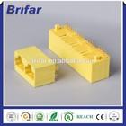 Brifar plastic waterproof rj45 assembly connector