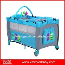 Double Baby Playpen Baby Crib Bed BP607F