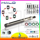 Wholesale price patented unique design side charge Mirco evod2 battery kit long lasting electronic cigarette battery