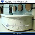 profissão de design de beleza salão de balcões de recepção por tellworld