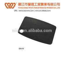 Black color wood antibacterial cutting board