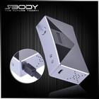 S-body square big battery mod e-cigarette 50 watt box battery