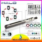 2015 ecig wholesale price mirco usb evod2 battery kit e-cigarette free sample