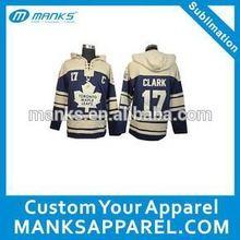 custom print your artwork as baseball hoodies