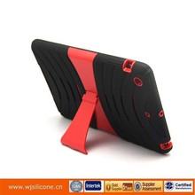 PC+Silicone protective case for ipad mini customized design welcome
