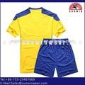calidad nuevo diseño niños camisetas de fútbol para entrenamiento de fútbol uniforme de la academia