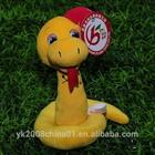 Customs kids soft toys plush stuffed snake