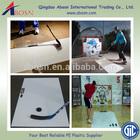 White hdpe sheet/sliding HDPE hockey shooting pad/puck shooting sheet
