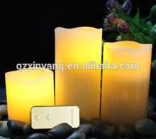 2015 Home Decoration 3PCS/Set Electronic Wax Led Candle Light Flamless LED Wax Candle