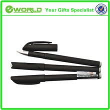 Custom logo black carbon fiber pen