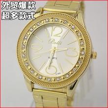 Hot sale vogue watches gold women bracelet watches & Essence watches men fake diamond watches & Beautiful cheap watches