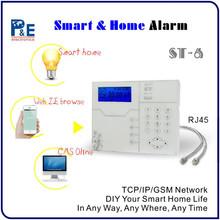 RJ45 Ethernet Port Network Alarm System