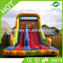 Good quality and safe fiberglass pool slide,large inflatable pool slides,pvc inflatable slides