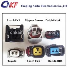 Honda,Toyota,Nippon,Delphi,Ev1,Ev6 2 Way Male and Female Fuel Injector Auto Waterproof Connector