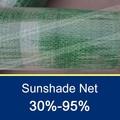 90% HDPE sol sombra plástico Net 135 g / m2