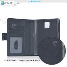 Online shop alibaba for BlackBerry BB Passport leather case